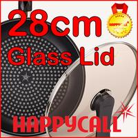 ◆Authentic◆Happycall Korea Tempered Glass Lid for Frying Pan Wok Pan 28 cm
