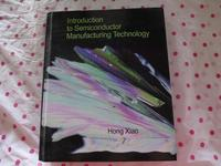 小智書房:二手書出清【Introduction to Semiconductor Manufactu】----Hong