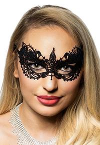 (Elevate Costumes) Petite Black Lace Women s Masquerade Mask by Elevate Costumes-