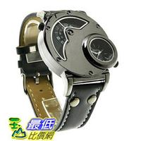[美國直購] Aposon Mens 男士手錶 Dual Time Quartz Analog Wrist Watch with Unique Dual Dial Design,
