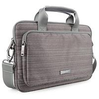 Macbook Pro 15-inch Laptop Case Evecase Classic Padded Briefcase Messenger Bag with Shoulder Stra...