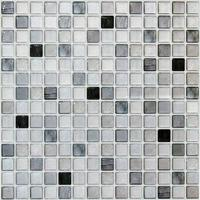 [Shipping from japan]Dream Sticker Kitchen Tile Seal Mosaic Tile Seal (31 × 31cm square) Monokuro TS