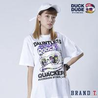 【Brand T】免運 達酷鴨 DUCK DUDE DAUNTLESS S/S TEE 白色*鴨子*LOGO*短T / 9570054-02