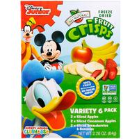 [iHerb] Brothers-All-Natural Disney, Fruit-Crisps Variety Pack, 6 Single Serve Bags