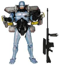 NECA Robocop - 7 Ultra Delux Figure with Jetpack and Assault Cannon