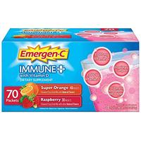 [USA Shipping] Emergen-C Immune+ System Support Dietary Supplement Drink Mix With Vitamin D 1000mg