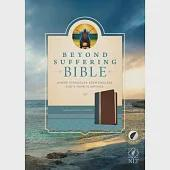 Beyond Suffering Bible: New Living Translation, Teal, Brown & Rose Gold Edition, Where Struggles Seem Endless, God's Hope Is Inf