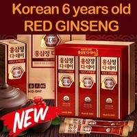 [正官庄 紅蔘精]◆Authentic◆D Day Korean Genuine Red Ginseng Extract Gold Stick 10 g x 30 Pouch