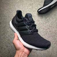 Adidas Ultra Boost 3.0 LTD 皮面黑白 情侶款