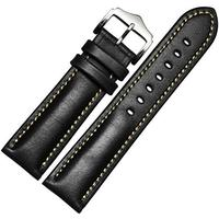 "[iroiro] Foopot who watches port watch belt strap band leather strap fashionable classics classics tile wrist watch band oily car ""Uhido"" with one touch leather"