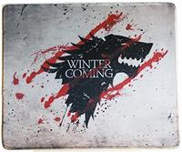 (Blueberry Cannon) 12x10 Inch Game of Throne Winter Is Coming North Wolf Mousepad Large Mouse Pad...