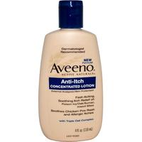 [iHerb] Aveeno Active Naturals, Anti-Itch Concentrated Lotion, 4 fl oz (118 ml)