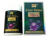 [USA Shipping] Costar Liver Detox Liver Tonic 35000 mg 100 Capsules Made in Australia