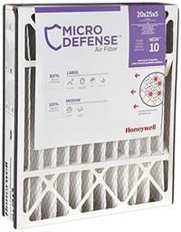 MicroDefense by Honeywell CF508A2025 Honeywell Home MicroDefense AC Furnace Air Filter 20x25x5 ...