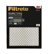 Filtrete MPR 2800 20 x 25 x 1 Ultrafine Particle Reduction AC Furnace Air Filter Delivers Cleane...