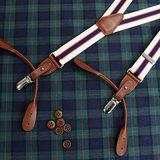 Suspenders button or clip The 2way 30mm trad Made in Japan