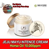 [Mayu Intence Cream] Horse Oil Cream 70g/ Jeju Horse Oil 10000ppm / Made in Korea / Moisturizing / Anti-Wrinkle / Whitening