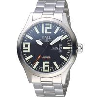 【BALL 波爾】Engineer Master II Aviator機械腕錶(NM1080C-S14A-BK)