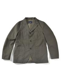BESLOW 16FW COTTON CASUAL JACKET - OLIVE