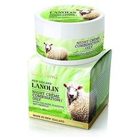 (Wild Ferns) Wild Ferns Lanolin Night Creme with Collagen Placenta and Propolis for Combination...