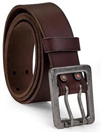 PRO Men s 42mm Double Prong Leather Belt
