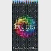 Pop of Color Pencil Set: 12 Colored Pencils for All of Your Colorful Creations