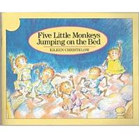 【廖彩杏有聲書單】FIVE LITTLE MONKEYS JUMPING ON THE BED (JY版)