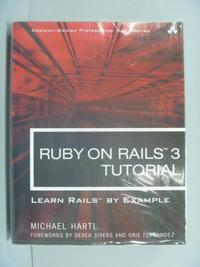 【書寶二手書T4/電腦_WFU】Ruby on Rails 3 Tutorial_Hartl