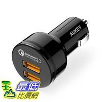 [106美國直購] Aukey CC-T8 車充 車用充電器 Car Charger with Dual Quick Charge 3.0 Ports