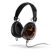 志達電子 S6AVFM-310 Tortoise/ Black 美國 Skullcandy Aviator 可換線式 飛行員耳罩式耳機 for iPhone ipod Apple
