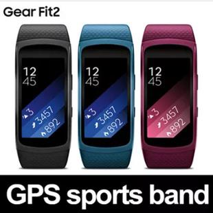 Samsung Electronics100% Authentic Samsung Gear Fit 2 SM-R360 GPS Sports Band / Free Fedex Expedited Shipping / Smart watch / Activity / Fitness