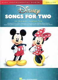DISNEY SONGS FOR TWO (Cellos)