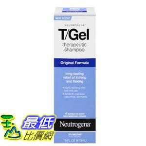 [美國直購] Neutrogena T/Gel 16 Fl. Oz 473ML 洗髮精 Therapeutic Shampoo Original Formula TB4