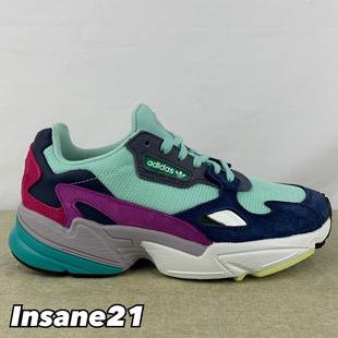 【特價商品】ADIDAS ORIGINALS FALCON W 藍紫綠 老爹鞋 BB9175【Insane-21】