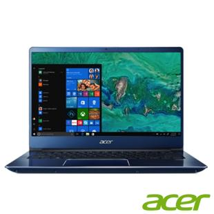 (福利品)Acer SF314-56G-53KE 14吋筆電(i5-8265U/MX150/4G/1T HDD/Swift 3/藍)