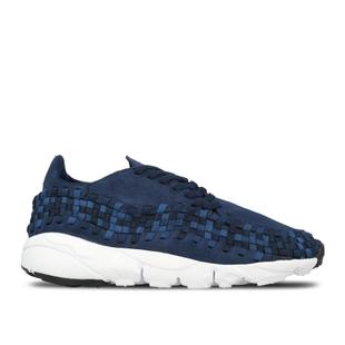Nike Air Footscape Woven 藍色 男鞋 編織 875797 400