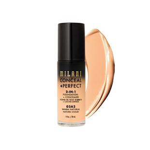 Milani Conceal + Perfect 完美零瑕二合一遮瑕粉底液 02A2 Warm Natural 30ml