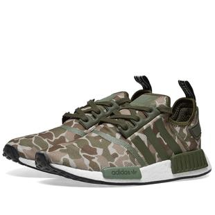 ADIDAS NMD R1 綠迷彩 D96617【Ting Store】