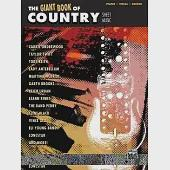 The Giant Book of Country Sheet Music: Piano/ Vocal/ Guitar