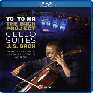 【C Major】馬友友 巴哈計畫 藍光 YO-YO MA THE BACH PROJECT BD