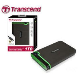 創見 25MC 1TB(TS1TSJ25MC)軍規/USB3.1 Gen1/三年保【Type-C】