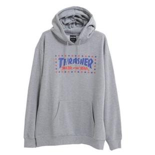 【HopesTaiwan】THRASHER SOTY HOODED-HEATHER GRAY