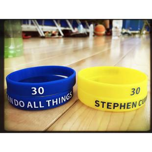NBA Stephen Curry 手環 i can do all things 勇士隊 咖哩手鍊【A11】