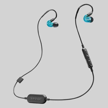 ◆快速到貨◆SHURE SE215 Wireless藍色特別版 可換線 耳道式 藍牙耳機 SE215SPE-B-BT1