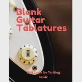 Blank Guitar Tabs: 200 Pages of Guitar Tablatures with Six 6-line Staves and 7 blank Chord diagrams per page. Write Your Own Music. Music