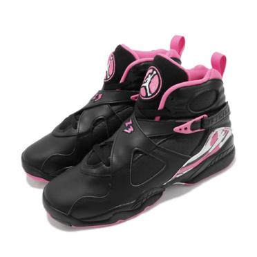 【NIKE 耐吉】AIR JORDAN 8 GS PINKSICLE 粉紅 籃球鞋 580528-006
