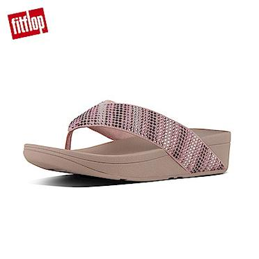 FitFlop SKYROCKETSUEDE TOE-THONG-淡金