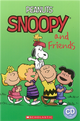 Scholastic Popcorn Readers Level 2: Peanuts: Snoopy and Friends with CD