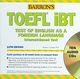 Barron's TOEFL iBT Internet-Based Test 12th Edition with Audio CDs