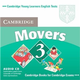 Cambridge Young Learners English Tests Movers 3 Audio CD, 2/e
